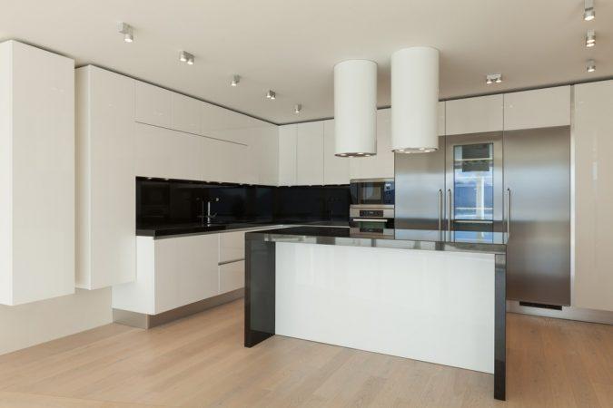 Дизайн кухні у стилі мінімалізм фото UrbanWood -12
